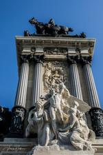 Monument POV - Madrid, Spain