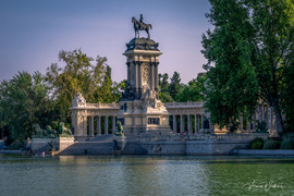 Monument in the Park - Madrid, Spain