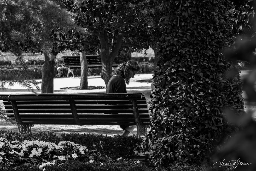 Reading in the Park - Madrid, Spain