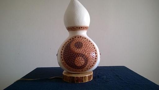 gourd lamps gourd art gourd lights home decor ideas
