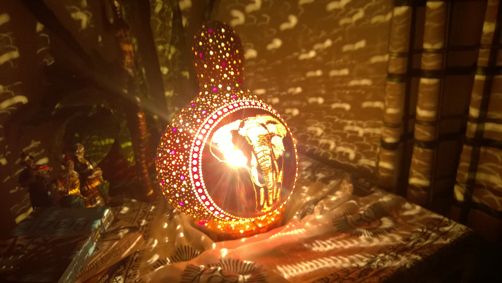Gourd Lamps bring the family together