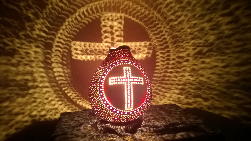 The Cross in the form of a night light