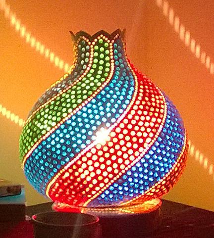 gourd lamps gourd lights goud art unique home decor unusual gift ideas