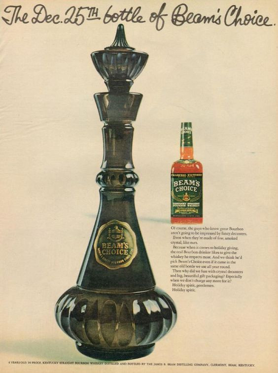 The Genie Bottle used in the TV series was originally a Jim Beam bottle.