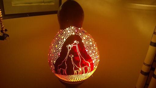 gourd lamps gourd art gourd lights nursery decor childrens room decor ideas