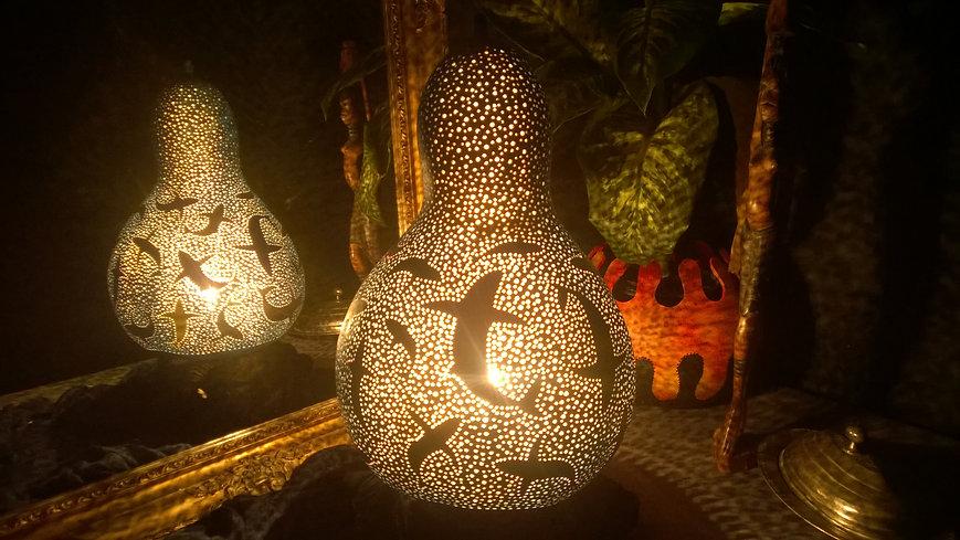 sharks gourd lamp