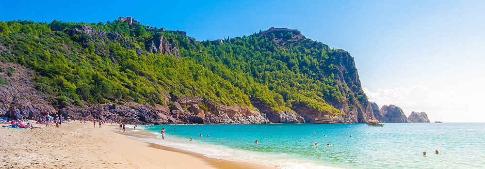 Cleopatra beach will still host some visitors who think the sea is warm.