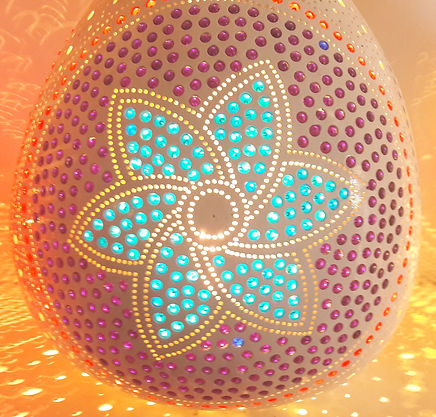 gourd lamp hanmadegourd light gourd art unique home decor