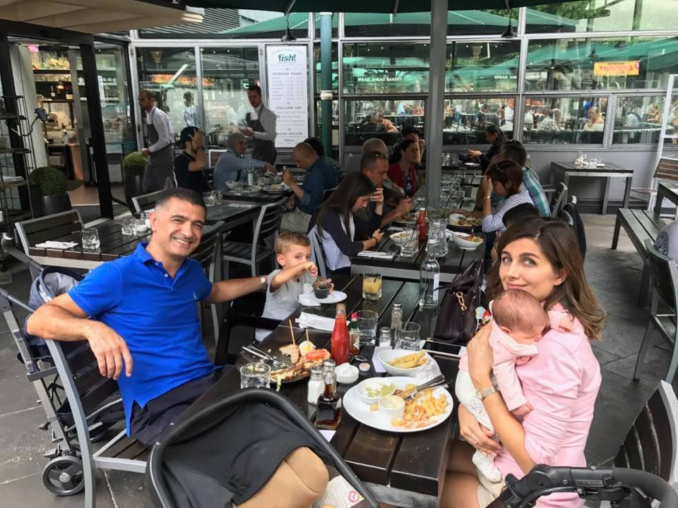 Mete Kıilicli and his family