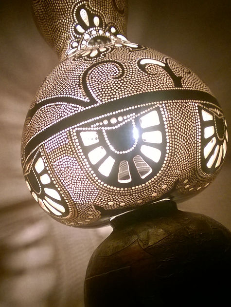 gourd lamps gourd lights gourd art