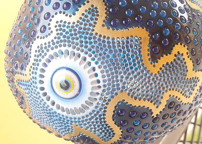 Handmade Gourd Lamp Gourd Lights Gourd Art Weird Unusual Bizarre Art Unique Home Decor Handmade Gift Ideas