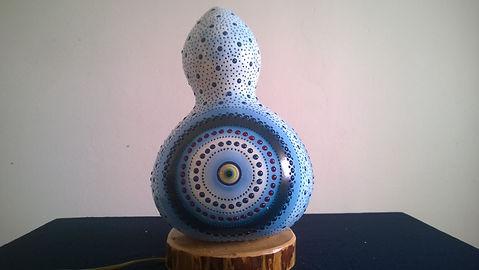 Handmade Gourd Lamp Gourd Light Turkish Light Evil Eye Protection Lamp
