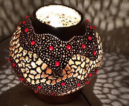 Handmade Gourd Lamp Gourd Light Gourd Art Unique Gift Ideas