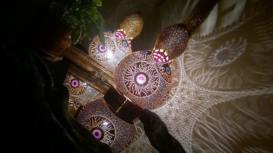 gour lamp, gourd art, gourd lights,ambiance lightng, psychedelic art, goth decorations, unique git ideas