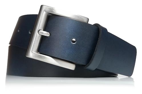 319/40 - Cinturón Hombre y Mujer - Piel legitima - 4 cm ancho - 40mm