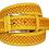 Thumbnail: 625/35 - Cinturón de piel vacuna vaquetilla Nobuck grabado