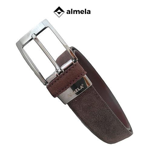 501/35 - Cinturón caballero serraje afelpado (Ante)