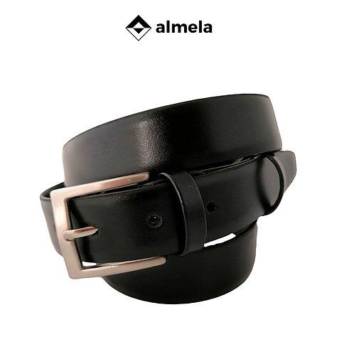 356/30 - Cinturón de caballero piel vacuna brillo sin costuras