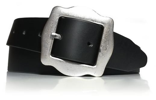 767/35 - Cinturón mujer - Piel legítima - 3,5 cm de ancho - Cuero - 35mm