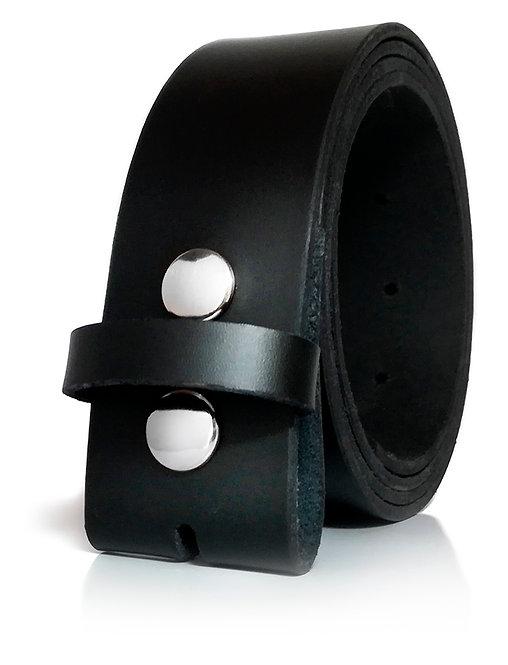 600/40 - Cinturón hombre y mujer sin hebilla - Hebillas intercambiables