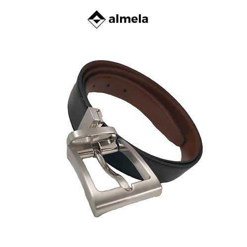 360/30 - Cinturón de caballero piel vacuna reversible
