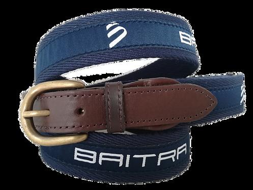 Cinturón naútico lona publicidad Baitra