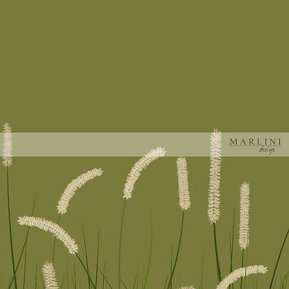 Wavy Grass - Green