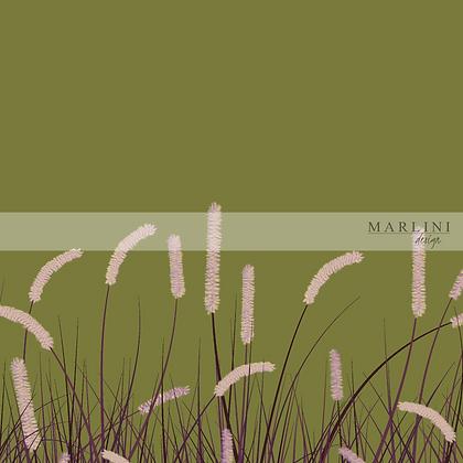 Wavy Grass - Purple