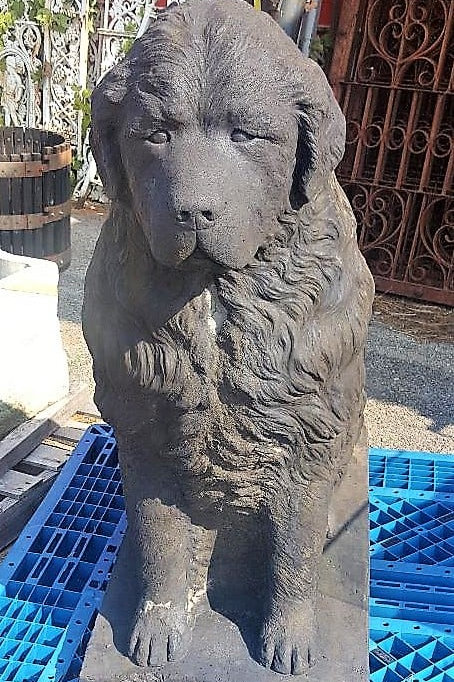 """Huge Concrete Newfoundland 42"""" high by 45"""" long by 18"""" wide"""