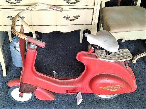 1950s Vintage Vespa garton Scooter Pedal Car Super Sonda italian style