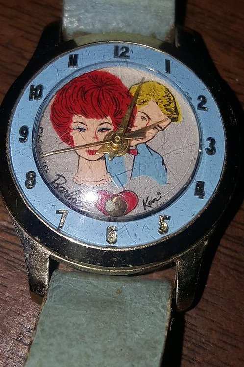 Mattel 1960s Vintage Barbie And Ken Watch - Collectibles