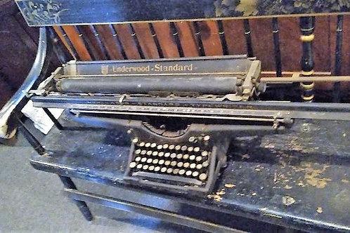 Rare Antique Underwood-standard Typing machine