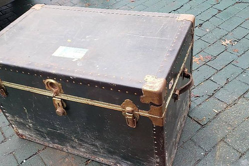 Steamship antique trunks we AKA (immigrant trunks) several styles