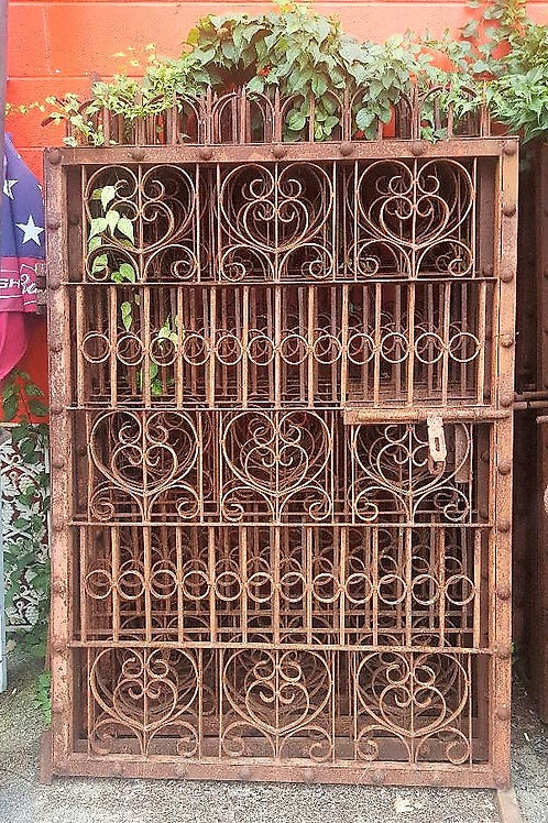 Antique Left and Right old iron gates. We have several sets.