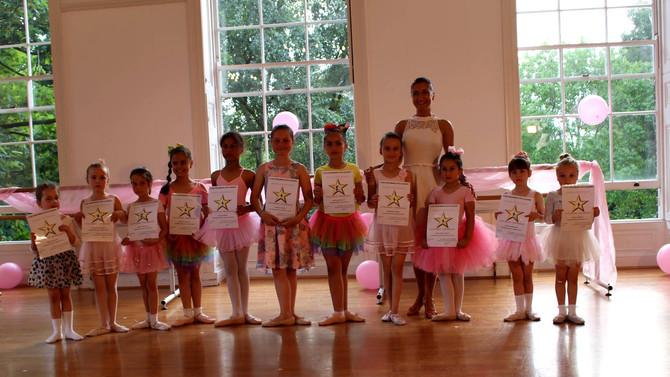 Outstanding Performance              Classical Ballet Grade 1 & 2 RAD 18/07/2017 Millfield Theat