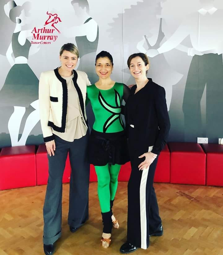 To My Dear Colleagues: I count myself lucky to work in ARTHUR MURRAY DANCE CENTRE - Barnet, with such caring employees. You all are the best. You are not just my Colleague at work but also my best friends. I appreciate your time and support. Thank you so much !!!♥