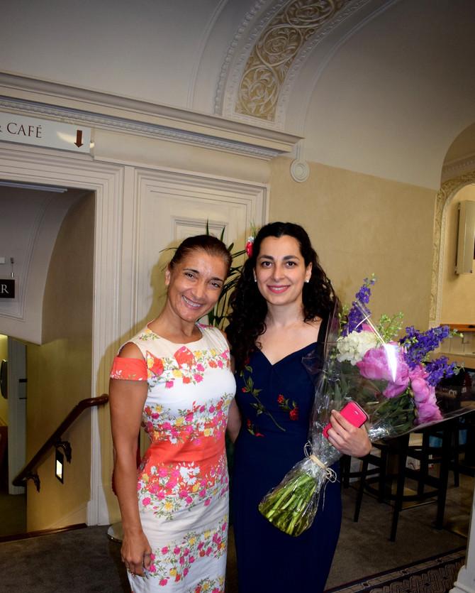 Ani Batikian - Briliant violinist, soloist of London Phoenix Orchestra, 29.06.17