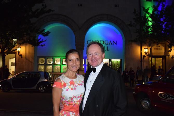 Alan Grant - Chairman of London Phoenix Orchestra in the wonderful Cadogan Hall, 29.06.2017