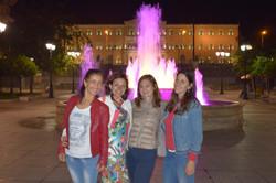 Athens Parliament square