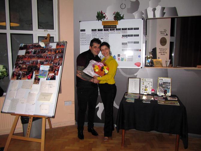 Start New Job- ARTHUR MURRAY DANCE STUDIO, Barnet