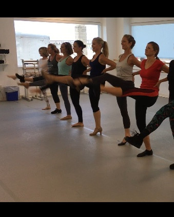 Adult Dance Summer Camp: Day 2 - we are kickin' it!