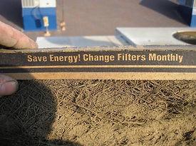 air filter dirty
