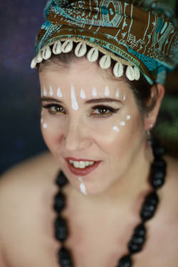 Babybauchshooting/ African Goddess
