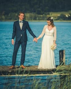 Brautpaar See
