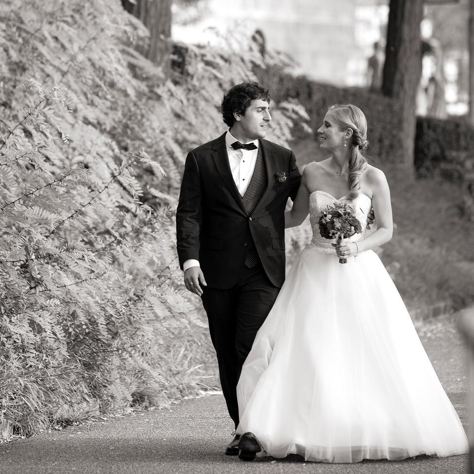 Wedding black& white