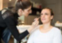 makeupartist at work