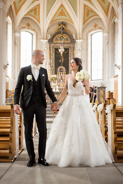 Kirchliche Hochzeit/ Auszug