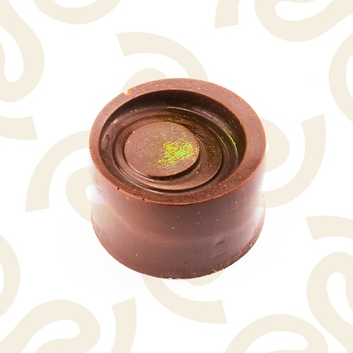 Chocolate relleno de tejate