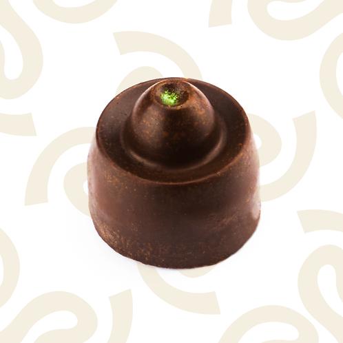 Chocolate relleno de maracuyá