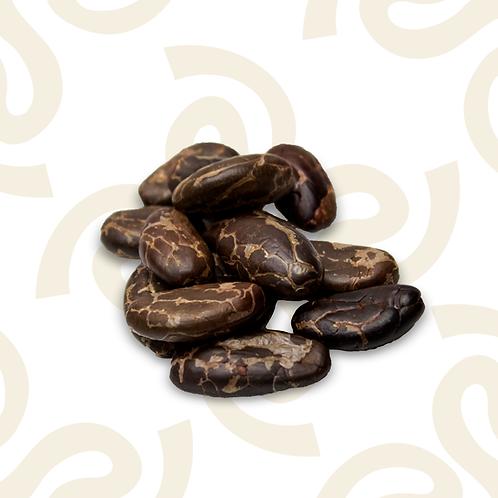 Cacao tostado y descascarillado